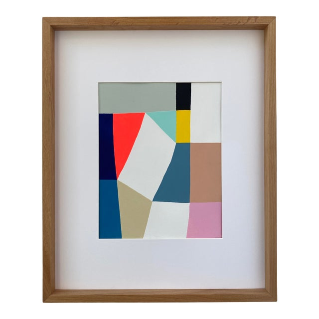 Middle Form Painting, Framed For Sale