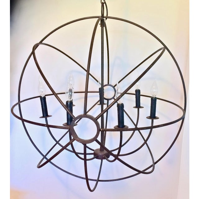 Contemporary Restoration Hardware Foucault's Orb For Sale - Image 3 of 5