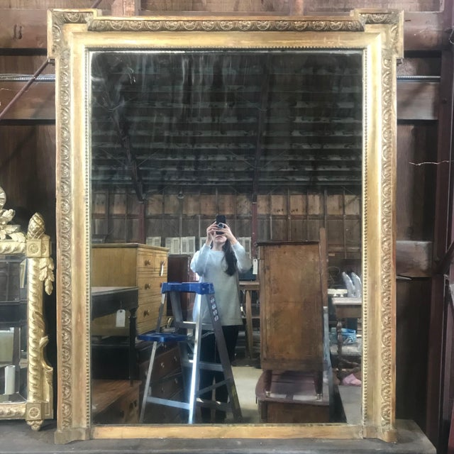 19th Century Louis XIV Giltwood Mirror For Sale - Image 10 of 10