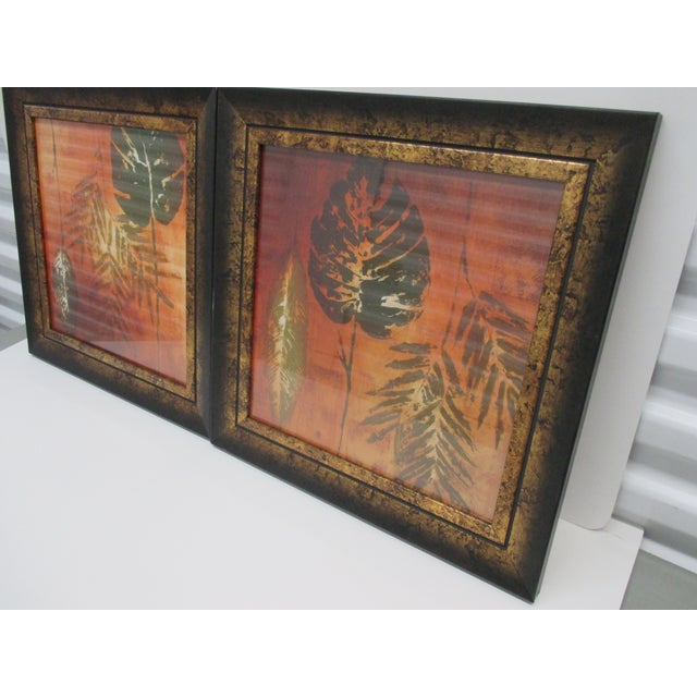 Art Deco Pair of Art Deco Style Prints Framed For Sale - Image 3 of 6