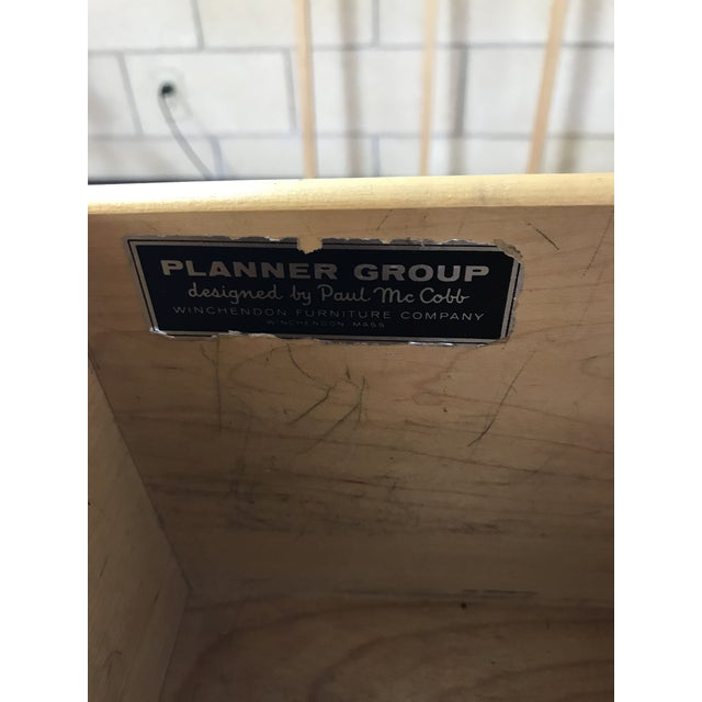 Wood Paul McCobb for Winchendon/Planner Group Refinished Desk For Sale - Image 7 of 10