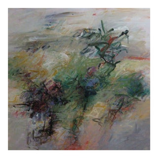 """Contemporary Abstract Acrylic Painting """"Celebration Fantasy"""" by Mary Lou Siefker For Sale"""