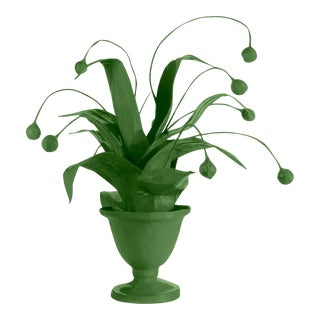 Stray Dog Designs for Chairish Crunchberry Faux Plant, Green For Sale