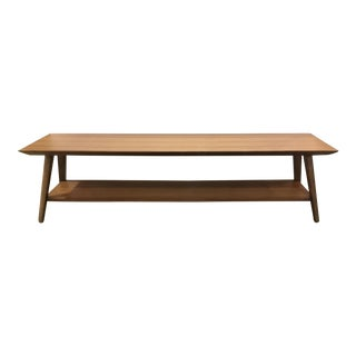 Drexel Heritage Cocktail Table/Elongated Bench in the Style of Paul McCobb For Sale