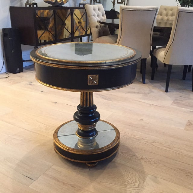 The regency and high quality designs communicate a mid century style. The price is for one table and you can purchase...