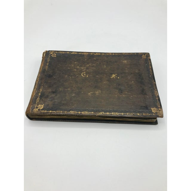 Antique French Personal Leather Journal For Sale - Image 13 of 13