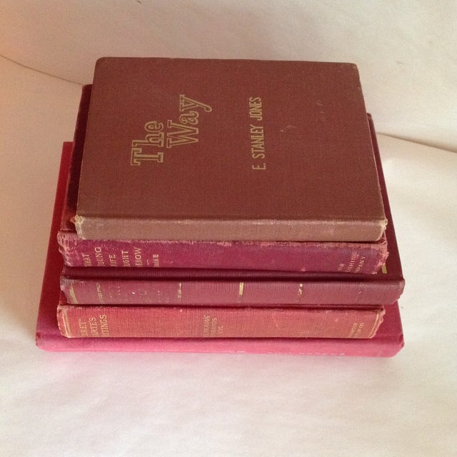 Red Antique Collected Books - Set of 5 - Image 3 of 11
