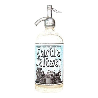 Vintage Seltzer Bottle From Derby, Connecticut For Sale