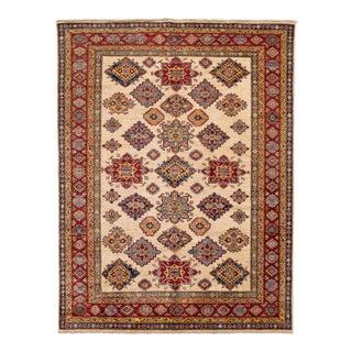 21st Century Modern Pakistan Kazak Wool Rug For Sale