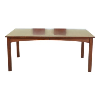 Stickley Harvey Ellis Inlay Cherry Dining Room Table For Sale