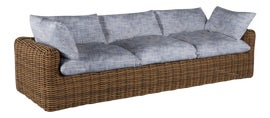 Image of Blue Outdoor Sofas