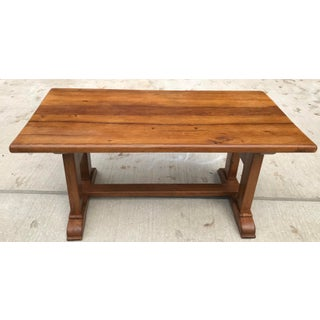 French Country Trestle Dining Table Preview