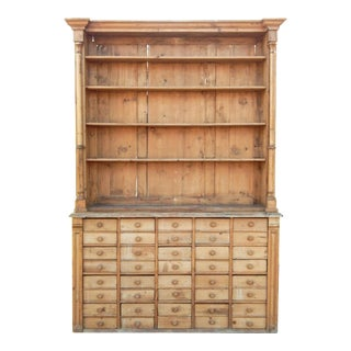 Unusual Pine Hutch For Sale