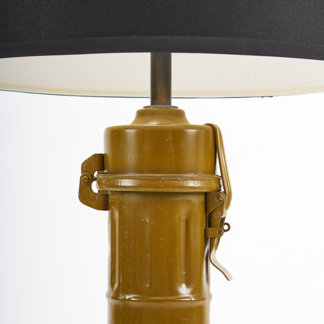 Federal Ted Harris Artillery Shell Table Lamp For Sale - Image 3 of 5