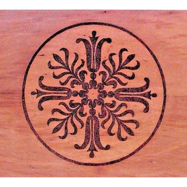Biedermeier Austrian 'Viennese' Biedermeier Maple Armoire Cabinet For Sale - Image 3 of 6