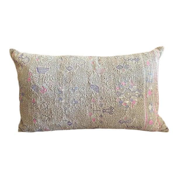 Vintage Minority Tribe Lumbar Throw Pillow For Sale