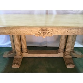 19th C. Carved Library Table Preview
