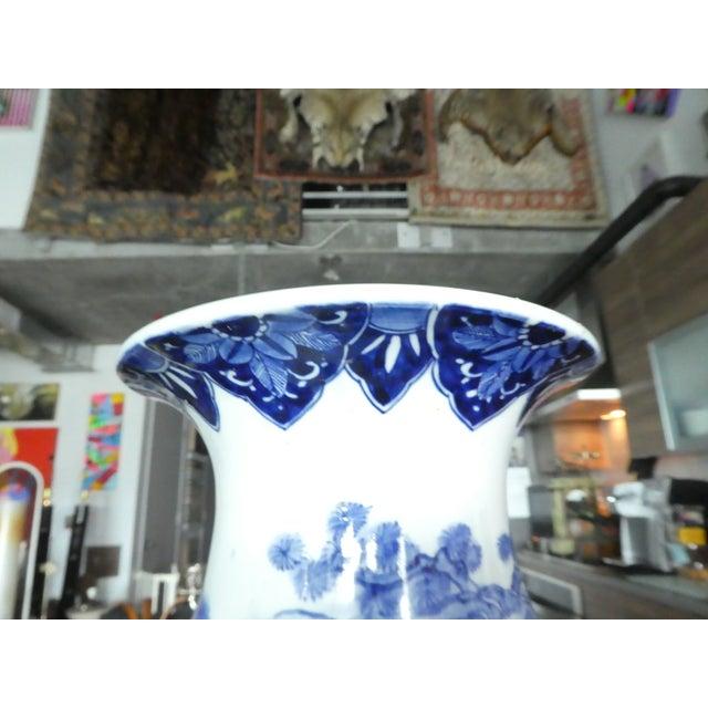 Palace Size 19th Century Antique Japanese Imari Vase For Sale - Image 9 of 10