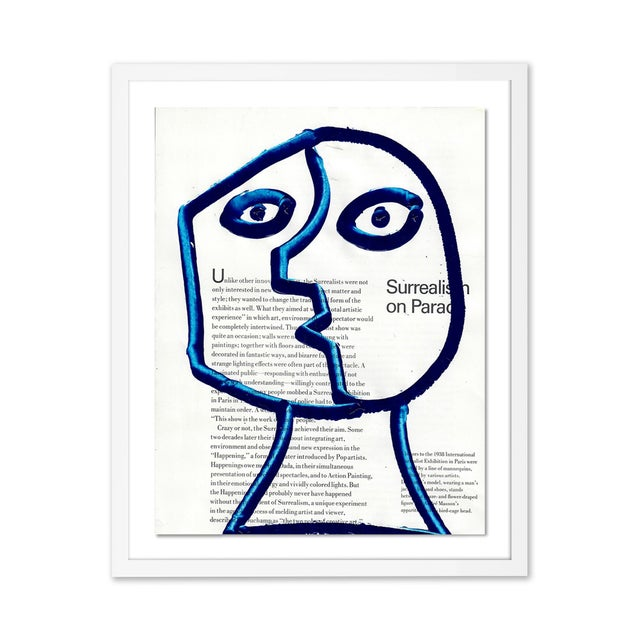 Not Yet Made - Made To Order Contemporary Portraiture Gallery Wall - Set of 4 For Sale - Image 5 of 7