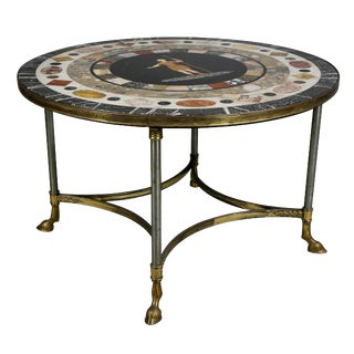 Italian Specimen Marble-Top Table For Sale