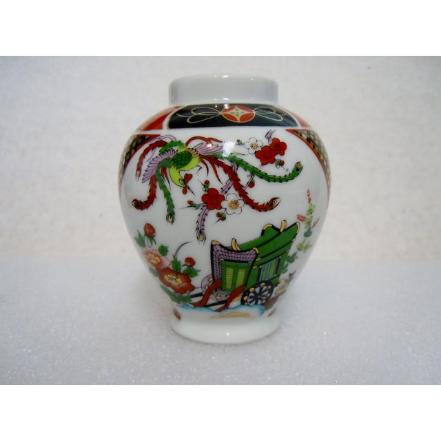 Asian Japanese Imari Vase For Sale - Image 3 of 6