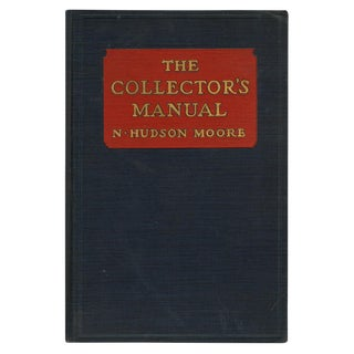 """1939 """"The Collector's Manual"""" Collectible Book For Sale"""