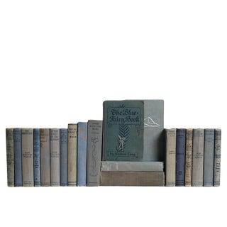 Well Worn Vintage Denim Book Set, S/20 For Sale