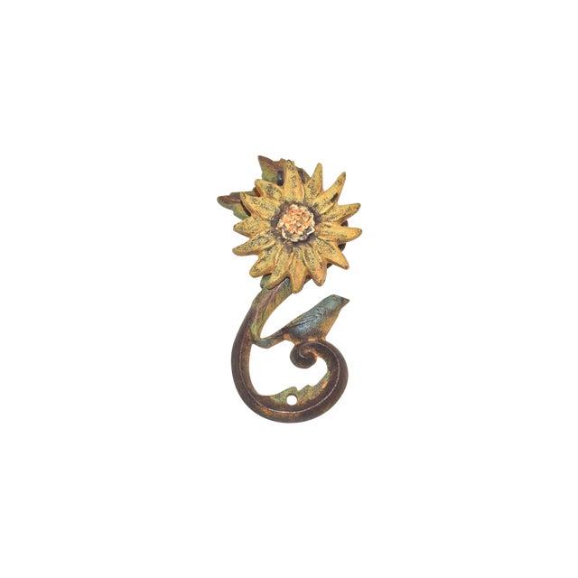 Sunflower & Bluebird Door Knocker - Image 1 of 9