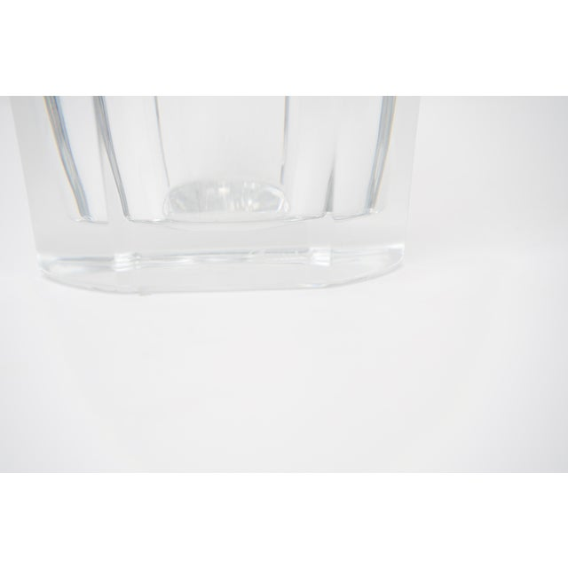 Baccarat Baccarat Crystal Vase For Sale - Image 4 of 6