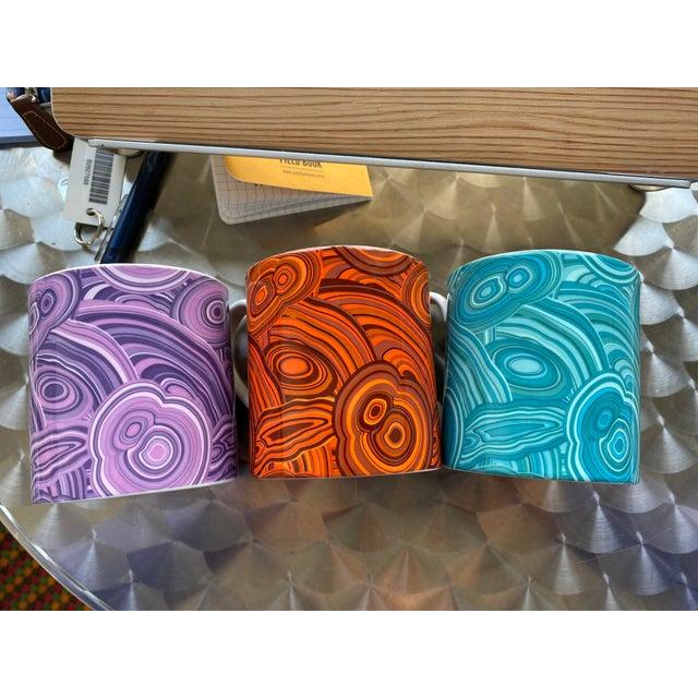 Jonathan Adler Jonathan Adler Malachite-Patterned Mugs - Set of 2 For Sale - Image 4 of 6