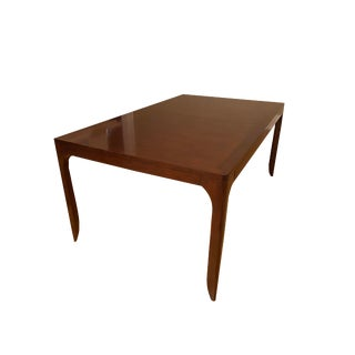Parsons Style Henredon Dining Table by Barbara Barry For Sale
