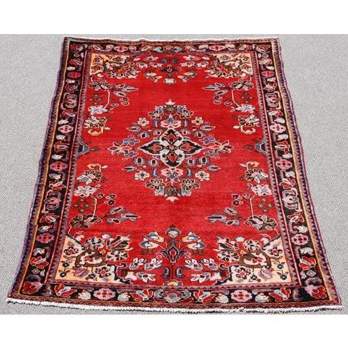 Handmade Persian Lilian Rug - 5″ × 7″ - Image 2 of 5