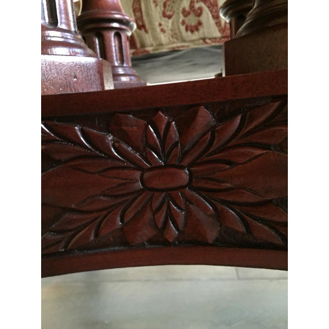 Baker Double Pedestal Mahogany Dining Table - Image 7 of 7