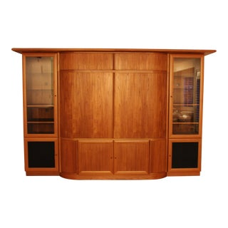 Teak Entertainment Center