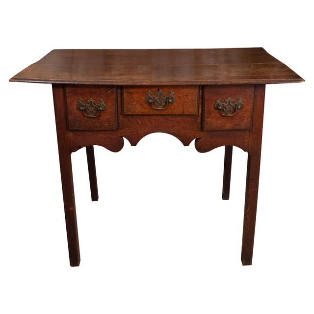 18th Century English Oak Side Table For Sale - Image 10 of 10