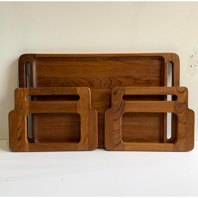 Mid-Century Modern Mid-Century Dansk Breakfast Tray For Sale - Image 3 of 4