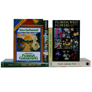 Florida Garden Book Collection - Set of 6 For Sale