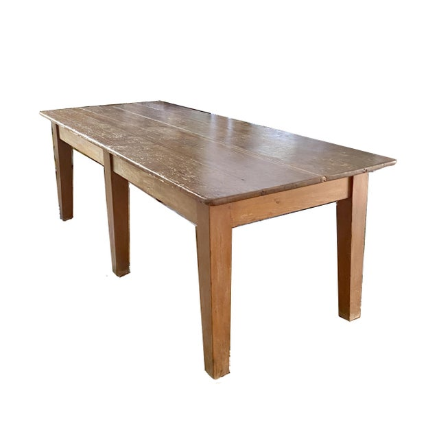 19th Century French Farm Table For Sale - Image 4 of 4