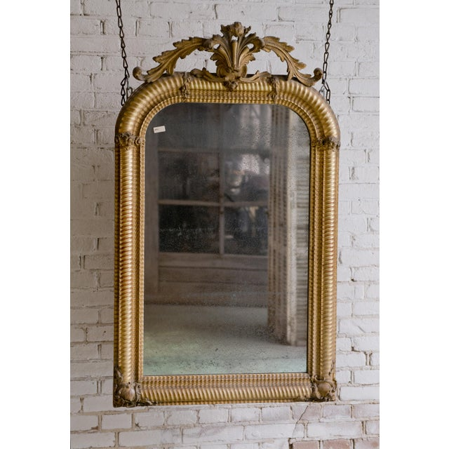Traditional Stunning Early 19th Century Mirror For Sale - Image 3 of 10