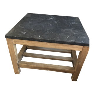 Pottery Barn Connor Stone Coffee Tables For Sale