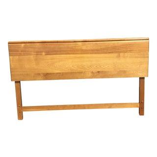 Mid-Century Modern Heywood-Wakefield Maple Full Size Headboard For Sale