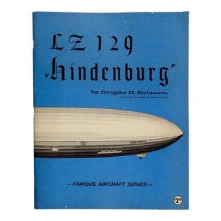 Zeppelin Lz 129 Hindenburg Book For Sale