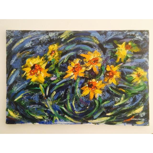 Original Impasto Floral Painting - Image 2 of 6
