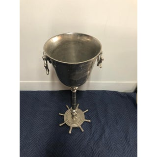 Vintage Nicole Miller Eastern Yacht Club Nautical Champagne Bucket Preview