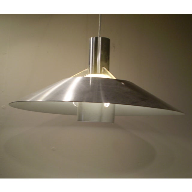 Vintage 1970s Modern Light Fixture - Image 3 of 4