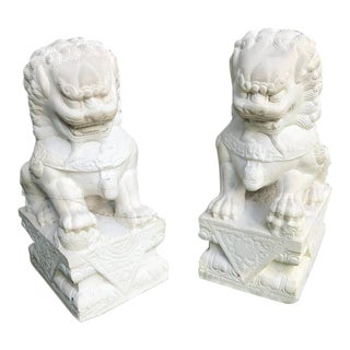 Pair of Foo Dogs For Sale