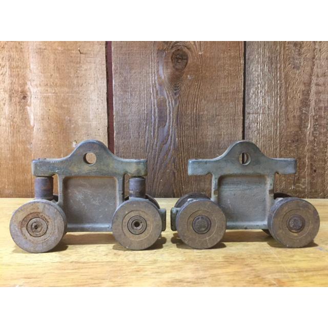 Antique Barn Door Roller Hardware | Chairish