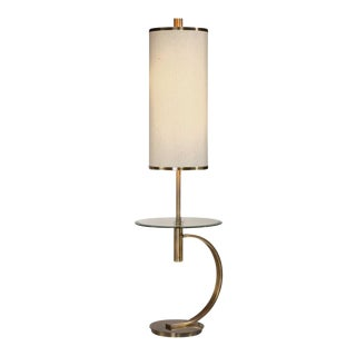 Floor Lamp with Table For Sale