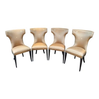 James Jennings Kerry Joyce Collection Dining Room Chairs - Set of 4 For Sale
