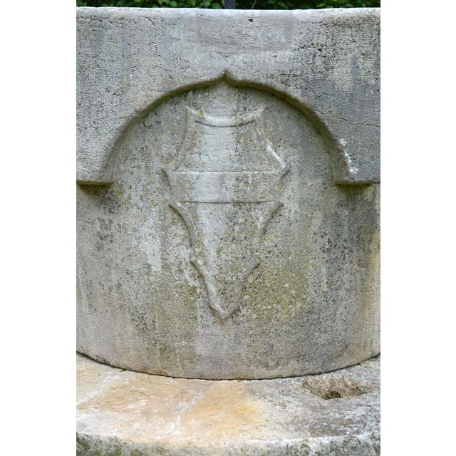 White Medieval Venetian Wellhead For Sale - Image 8 of 12